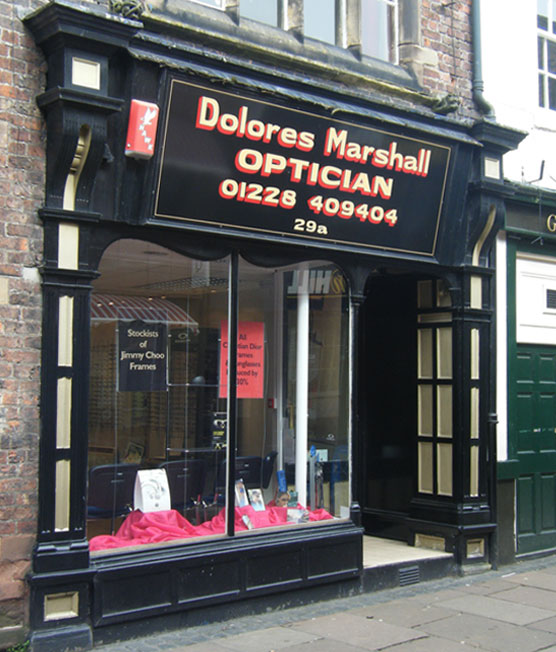 Dolores Marshall Optician Shop
